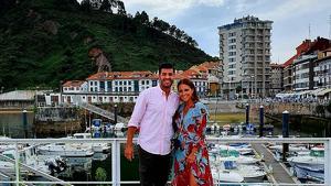 Miguel Torres y Paula Echevarría en Asturias