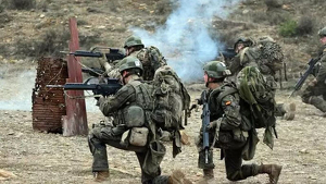 Militares españoles del Ejército de Tierra