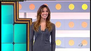Paloma López en 'La ruleta de la suerte'