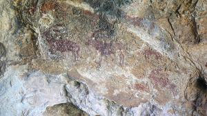 Panell pictòric de la Cova del Ramat