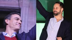 Pedro Sánchez i Santiago Abascal