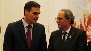Pedro Sánchez segueix sense respondre les trucades de Quim Torra