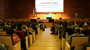 Pla general dels participants en la 47a Assemblea General Ordinària dels Escoltes Catalans celebrada a Reus