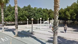 Plaça a on està situat el Jutjat núm.5 d'Alacant