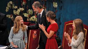 Premis Princesa Asturias Rei Felip Princesa Elionor