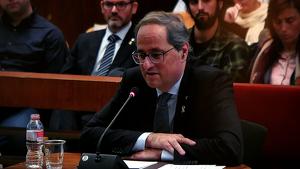 Quim Torra, president de la Generalitat, jutjat pel TSJC per desobediència