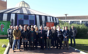 Reunió de representants de Mossos d'Esquadra i Policia Local a Cerdanyola
