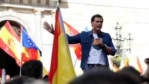 Rivera assegura que aplicar el 155 a Catalunya és una «obligació política i moral»