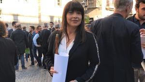 Rosa Maria Berenguer, alcaldessa de Conesa.
