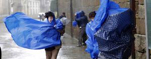 Se esperan ráfagas de viento de más de 100 km/h en Galicia, Cantábrico y en la costa sur andaluza