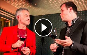 Sergio Dalma i Jordi Grau en la presentació de la campanya conjunta