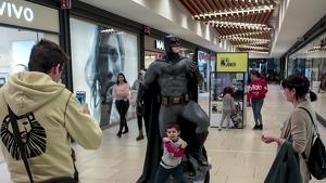 Tour fan de Batman al Parc Central per celebrar el 80è aniversari, en imatges!
