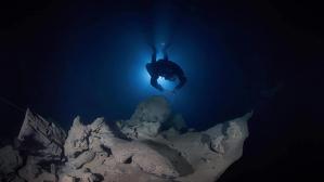 Tres tarragonins han viatjat fins a la Xina per explorar unes cavitats subaquàtiques de la regió de Nanning.