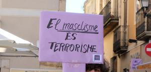 Un dels cartells de la darrera manifestació pel Dia de la Dona celebrada a Vila-seca.