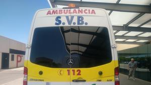 Una ambulancia del SVB
