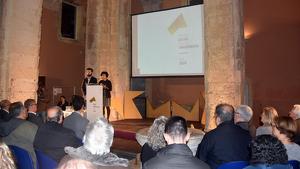 Una de les edicions anteriors de l'acte de lliurament dels Premis Cultura Vila de Torredembarra.