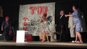 Una imatge d'una de les darreres obres de teatre interpretades pel Nus Escènic.