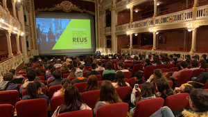 Una imatge d'una de les sessions del Festival Memorimage 2019 a Reus.