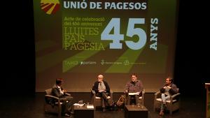 Unió de Pagesos ha celebrat el seu 45è aniversari en un acte al Morell