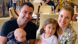 Xavi, Núria i els petits Àsia i Dan