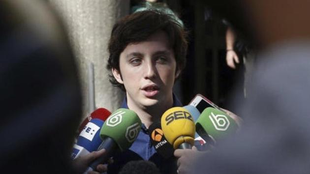 Els agents van detenir el 'pequeño Nicolás' per un delicte de lesions