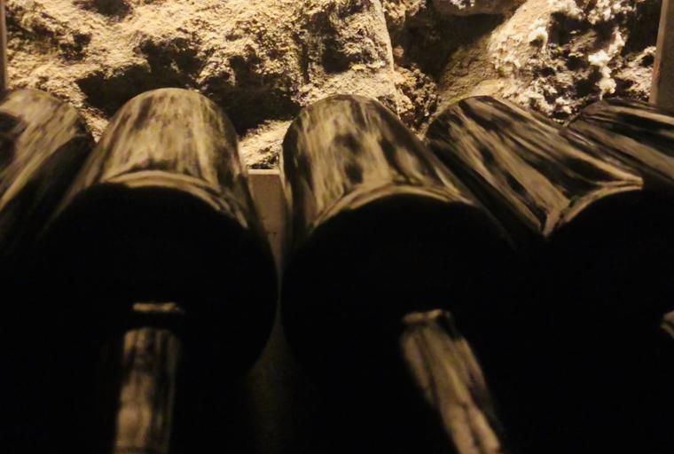Ampolles al celler Purgatori a Costers del Segre