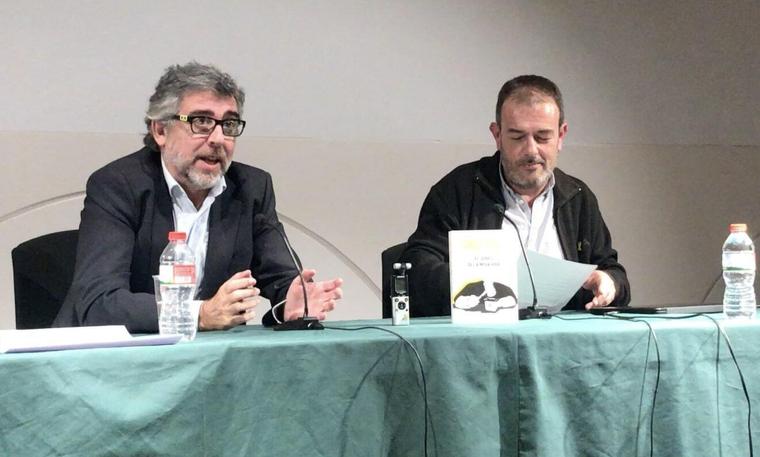 L'advocat Jordi Pina i el regidor de Junts per Cerdanyola, Joan Sánchez
