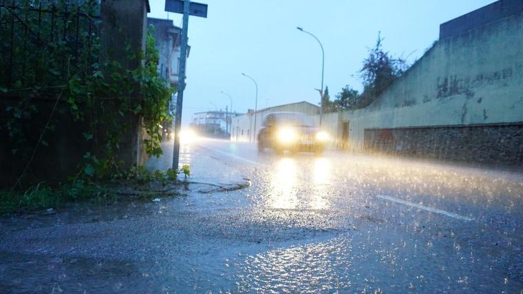 Las lluvias serán fuertes de madrugada en Galicia