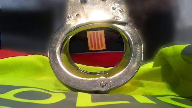 Mossos d'Esquadra recurs detingut