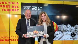 Imatge d'arxiu del president de la Federació Catalana de Futbol, Joan Soteras