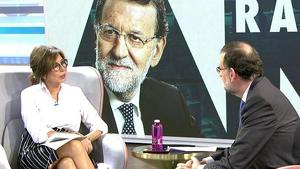 Ana Rosa entrevista a Mariano Rajoy