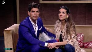 Diego Matamoros y Estela Grande en 'GH VIP 7'