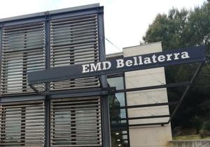 L'edifici de l'EMD de Bellaterra