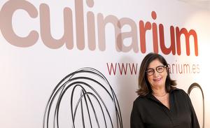Montse Robinat és la gerent de Culinarium