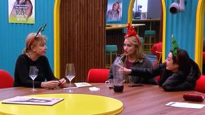 Mila Ximénez, Alba Carrillo y Adara en la casa de 'GH VIP 7'