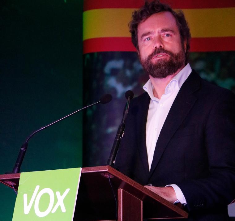 El portaveu de Vox, Iván Espinosa de los Monteros