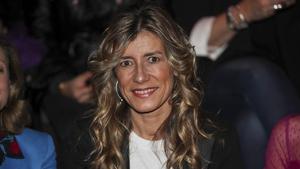 Begoña Gómez en la Mercedes Benz Fashion Week. 28 de enero de 2019