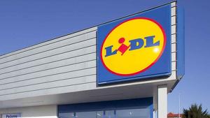 Imagen del exterior de un supermercado Lidl