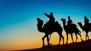 Imatge dels tres Reis Mags