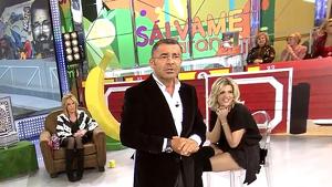 Jorge Javier Vázquez en el plató de 'Sálvame' convertido en plaza de toros