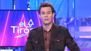 El presentador Christian Gálvez presentando 'El Tirón' en Telecinco el 9 de enero de 2020
