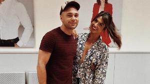 Cristian junto a su hermana, Sofía Suescun, en Telecinco