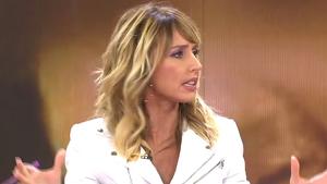 Emma García en el plató de 'Viva la vida'