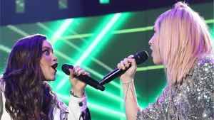 Eva y Samantha de 'OT 2020' cantando 'Maniac'