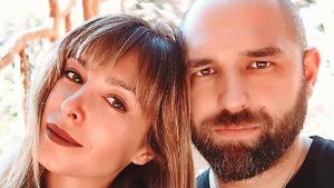 Gisela junto a su novio, José Ángel Ortega