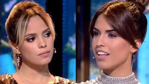 Collage de Gloria Camila y Sofía Suescun en el plató de 'Supervivientes 2020' el martes 26 de febrero de 2020