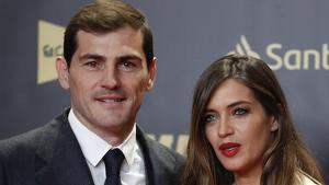 Iker Casillas y Sara Carbonero durante el 80 aniversario de Marca. 13 de diciembre de 2018