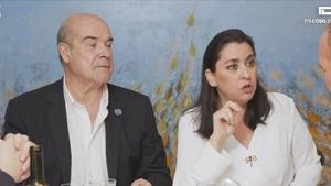 Antonio Resines y su mujer Ana comiendo en 'Mi casa es la tuya'