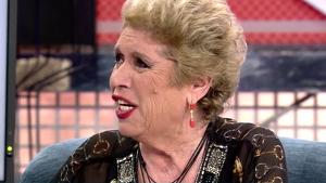 María Jiménez hablando en 'Sábado Deluxe'