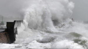 Imagen de los efectos de la tormenta 'Dennis'